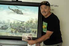Click to view album: 175th donates Joe Kline painting to Army Aviation Museum