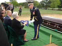 Click to view album: Olen Thornton - Arlington Burial